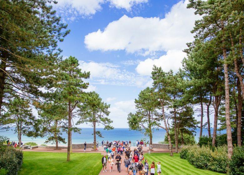 54910-Cimetiere_americain_d_Omaha_Beach-Caen_la_mer_Tourisme___Les_Conteurs_(Droits_reserves_Office_de_Tourisme___des_Congres)