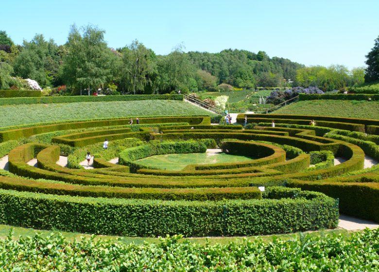 Labyrinthe du parc de la colline aux oiseaux à Caen