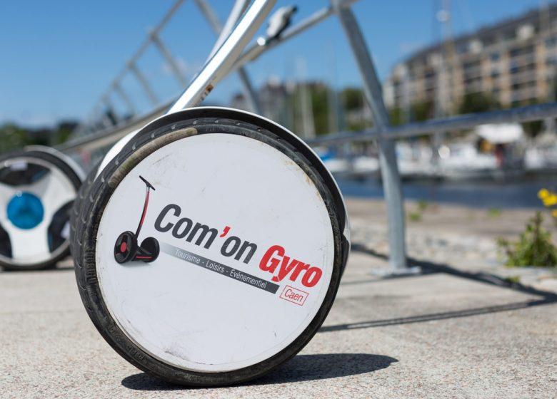 ComOn Gyro, balade en gyropode à Caen
