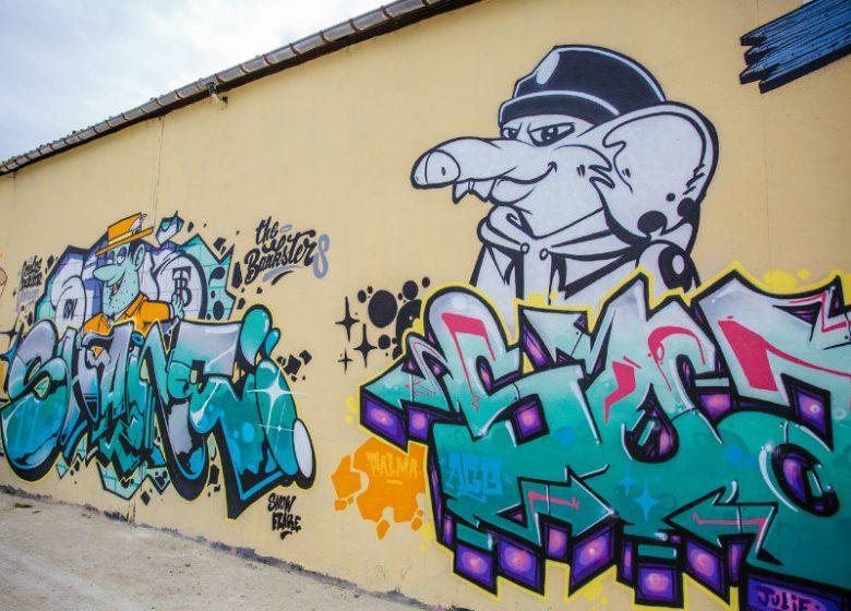 Street art © Caen la Mer Tourisme – Agence Les Conteurs 800×600