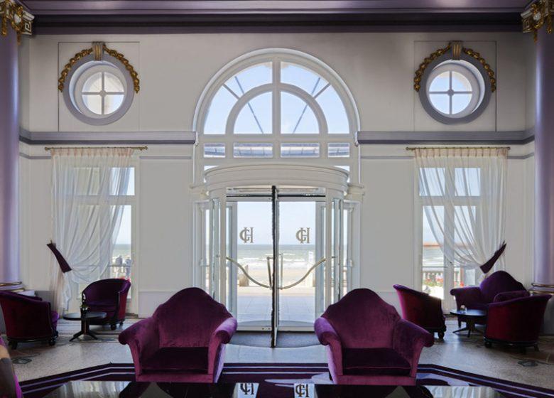Lobby du Grand Hôtel de Cabourg