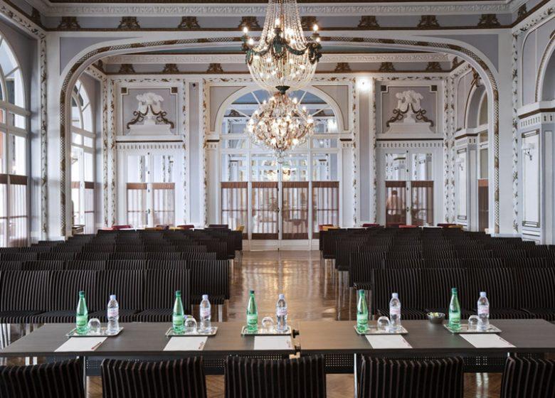 Salle de séminaire du Grand Hôtel de Cabourg